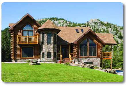 Log Homes On Pinterest Log Houses Log Cabins And Logs